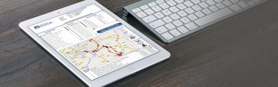 cucuadro de mando analisis de rutas comerciales
